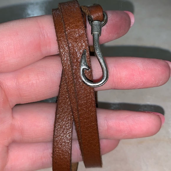 Jewelry - Faux leather wrap bracelet
